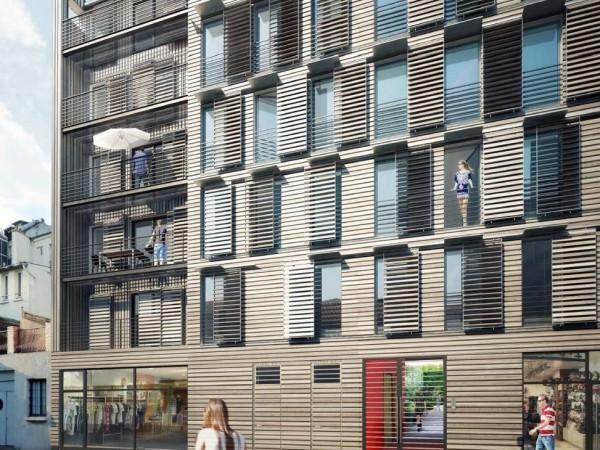 OSICA – Construction neuve en ossature Bois de 17 Logements – Montreuil (93)