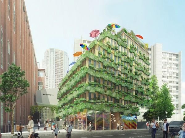 RÉINVENTER PARIS  – Edison Lite – Projet LAURÉAT – Immeuble «Zéro Charge»