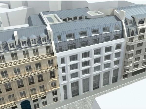 ALIUTA – Rénovation d'un immeuble de bureaux – Paris (8ème)