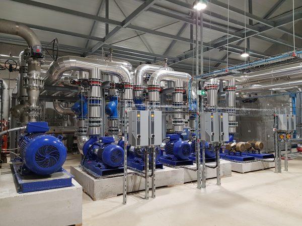 Maîtrise d'œuvre pour la construction d'une centrale géothermique au Dogger et des sous-stations (1 700 cottages). Complexe – VILLAGES NATURE