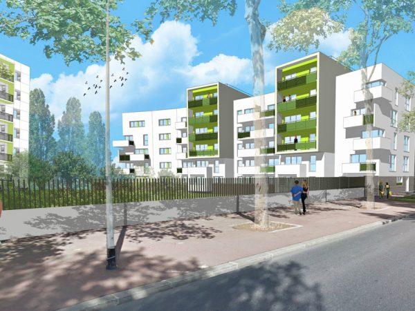 EFIDIS – Construction de 52 logements et rénovation de 83 logements en site occupé – LA COURNEUVE (93)