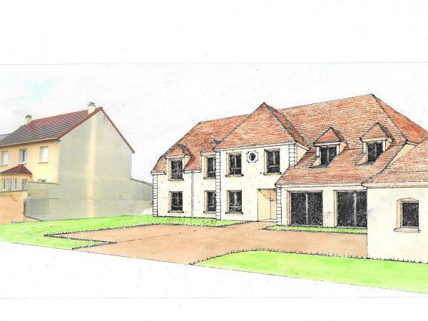 Construction d'un foyer de 13 chambres, une salle commune et une salle de restauration – Association AFASER – LE-PLESSIS-TREVISE (94)