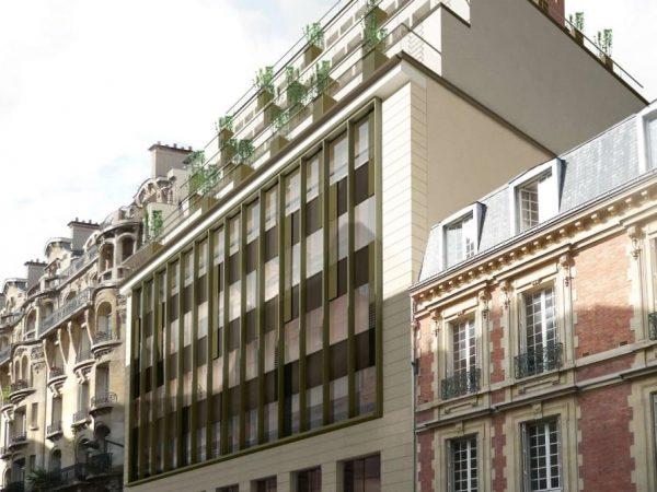 AXIM – Rénovation lourde d'un immeuble de bureaux – PARIS (17ème)