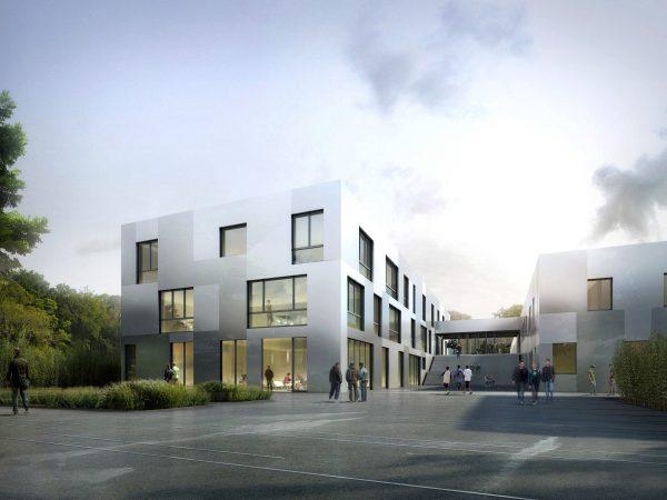 Réhabilitation – Restructuration et extension, en site occupé, des bâtiments du CFA – AFOBAT – RUEIL-MALMAISON (92)