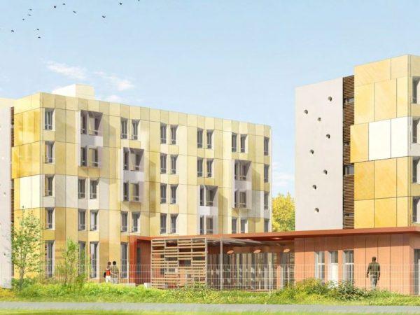 Réhabilitation d'un foyer de 193 logements en site occupé – Labellisation BBC – ADOMA – GUYANCOURT (78)