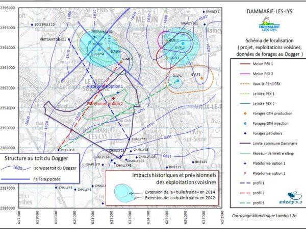 Etude de faisabilité pour mise en œuvre d'un système géothermique profond sur le réseau de chaleur – DAMMARIE-LES-LYS (77)