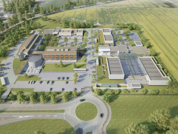 SCI LA GARENNE DE SÈVRES – Création d'un campus dédié aux métiers de l'automobile – GUYANCOURT (78)
