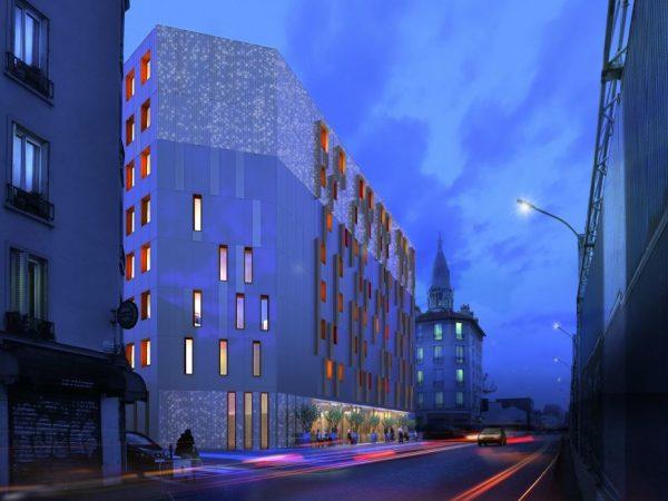 PROMICEA / ACCOR HOTELS – HOTEL 3 ETOILES EN BOIS CLT – GENTILLY (94)