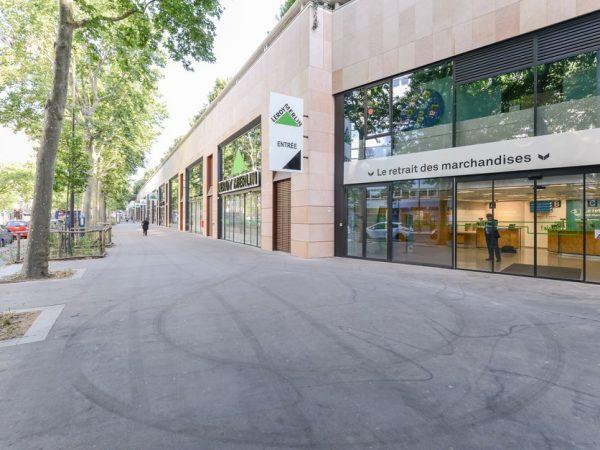 Maîtrise d'Œuvre de l'aménagement preneur- LEROY MERLIN – PARIS (12ème)