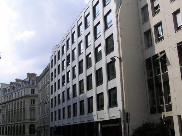 GECINA – Rénovation d'un immeuble de bureaux rue de la Ville l'Evêque – PARIS (8ème)