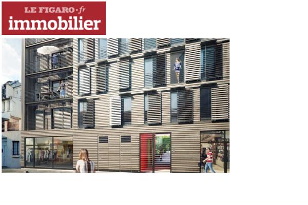 OSICA Montreuil, construction bois réalisée par S2T, dans la presse