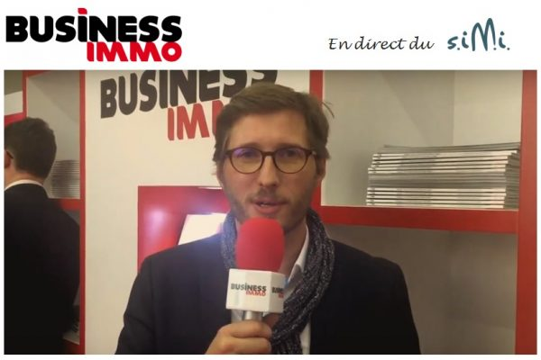 Retour sur les succès de la start-up S2T au SIMI 2016, Marc Fasiolo – Président par Business Immo Live
