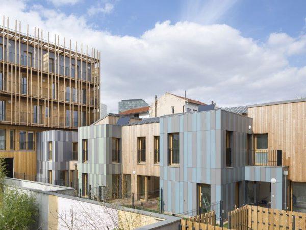 SSCV REI – Construction d'un immeuble de 24 logements et d'activités et de 5 maisons de ville – Montreuil (93)