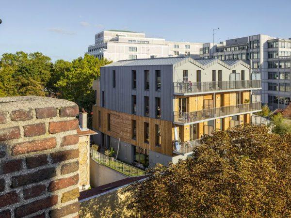 SSCV REI – Construction de 13 logements en structure bois et espace d'activités – Montreuil (93)