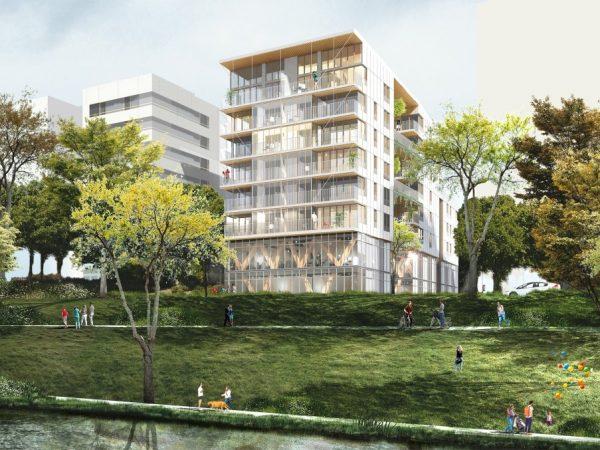 FRG IMMOBILIER/ATLAND – SCCV LIL'SEINE – Construction de 33  logements, bureaux et ateliers (programme LIL'SEINE) – ILE-SAINT-DENIS (93)