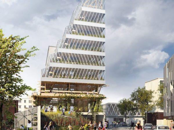 OPH ROMAINVILLE – Construction d'une Tour d'agriculture urbaine – ROMAINVILLE (93)