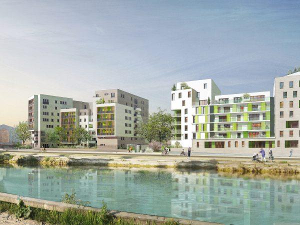 ICADE Promotion Logement – Construction de 168 logements bâtiment de type R+8 avec deux niveaux de sous-sols – AUBERVILLIERS (93)