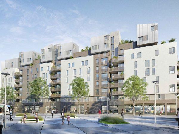PRIMESTIA – Construction de 152 logements à Saint Denis, bâtiment de type R+9 avec deux niveaux de sous-sols – SAINT-DENIS (93)