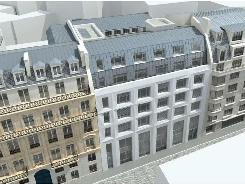S2t r novation d un immeuble de bureaux for Immeuble bureaux hqe